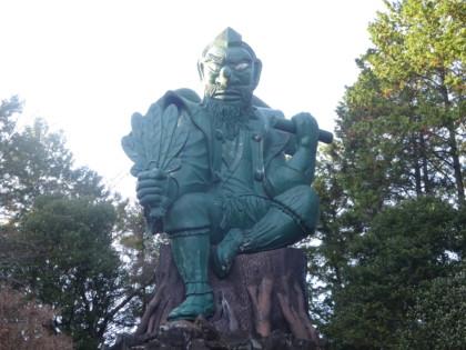 荒薙神社の大天狗